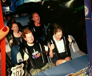Taylor Swift, ed sheeran, and Roller Coaster image