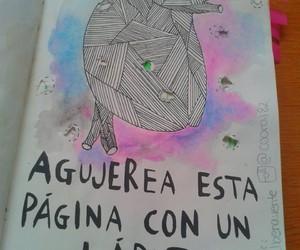 wreck this journal, destroza este diario, and art image