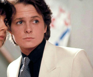 Back to the Future, handsome, and michael j fox image