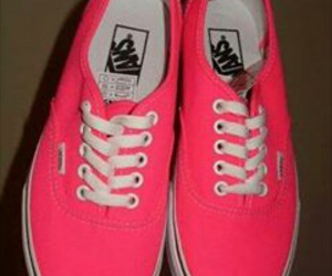 vans, pink, and perfect image