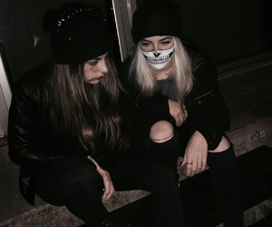 bff, Halloween, and black image