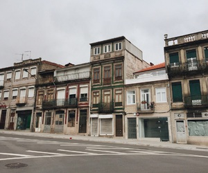 abandoned, grey, and old town image