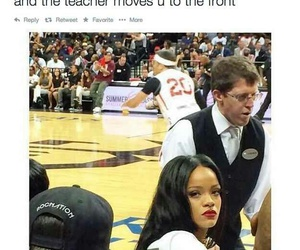 funny, rihanna, and school image