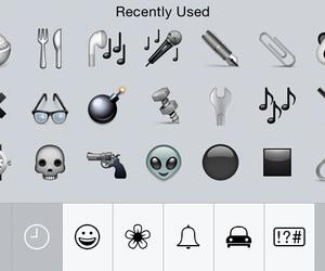 black, emoji, and grunge image
