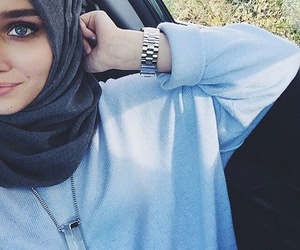 girl, icon, and muslim image