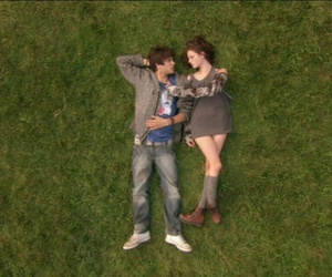 love, skins, and couple image