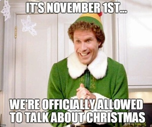 christmas, november, and elf image