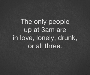 drunk, night, and love image