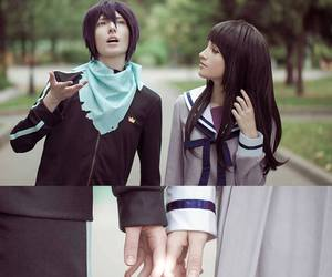 yato, noragami, and cosplay image