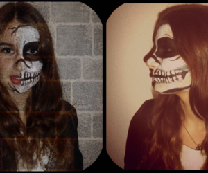 black and white, ️️hallowen, and dead image