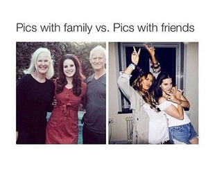 friends, funny, and family image