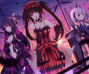 anime girl and date a live image