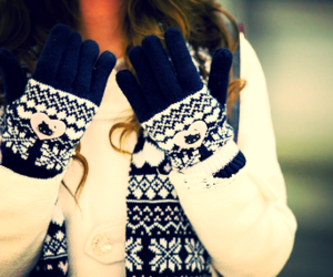 winter, fashion, and scarf image