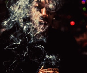 smoke, weed, and wiz khalifa image