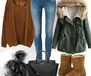 outfit, winter, and clothes image