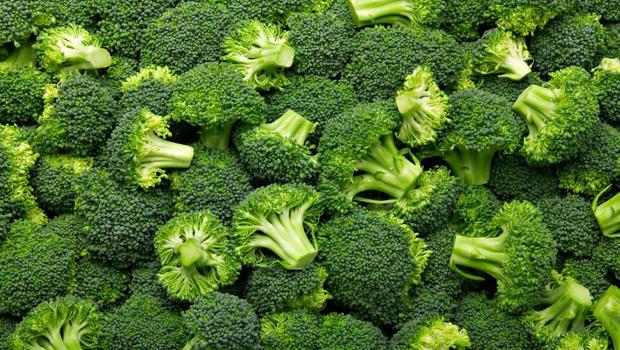 food, broccoli, and green image