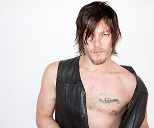 men, the walking dead, and daryl dixon image