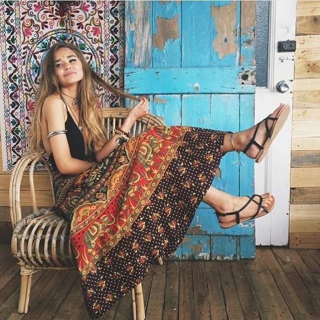 boho, hippie, and bohemian image