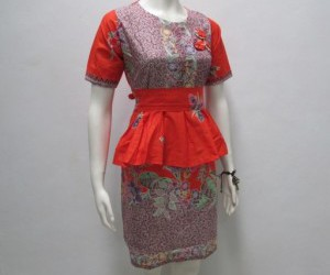 dress batik, dress batik terbaru, and dress terbaru image