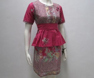 model dress batik, dress batik terbaru, and dress batik yang terbaru image