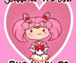 Valentine's Day, sailor chibi moon, and sailor moon image