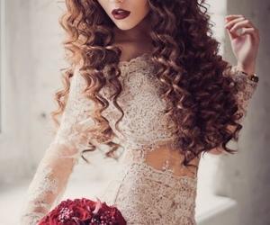 beauty, long hair, and princess image