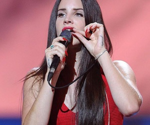 lana del rey, red, and lana image