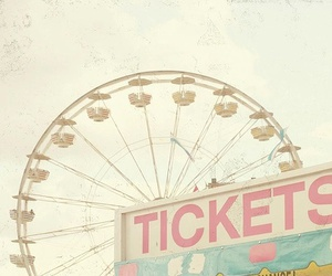 ticket, pink, and pastel image