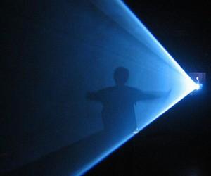 blue, dark, and light image