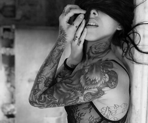 tattoo, ink, and sexy image