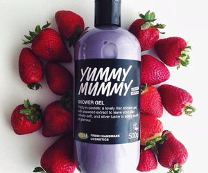 lush and strawberry image