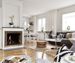 living room, home decorating, and interior image