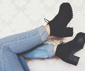 boots and jeans image