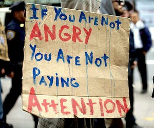 angry, quotes, and attention image