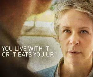 quote, twd, and carol peletier image