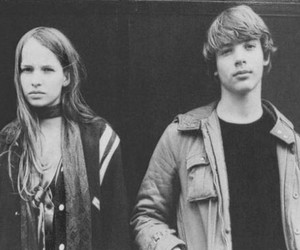 Christiane F, black and white, and movie image