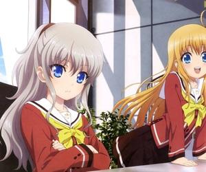 charlotte and anime image