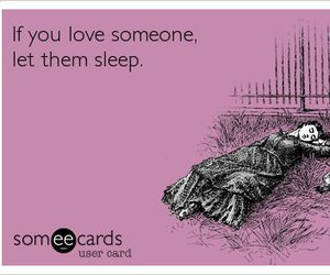 love, sleep, and funny image