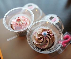 food, yummy, and cupcake image