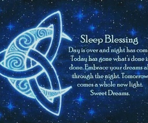 sleep, blessing, and Dream image