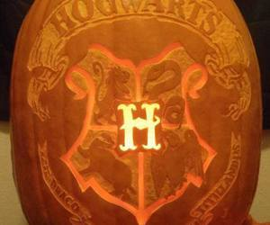 harry potter, hogwarts, and Halloween image