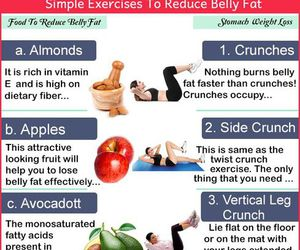 belly, fitness, and healthy image