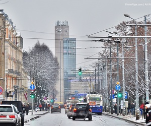 latvia, riga, and streets image