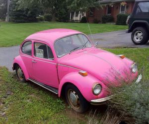 car, pink, and pretty image