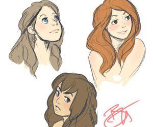 ginny weasley, girl, and girls image