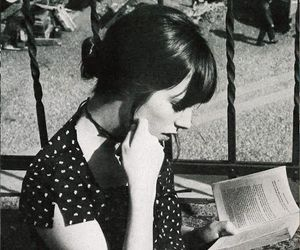 jane birkin, girl, and book image
