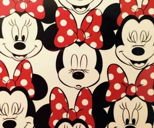 minnie, disney, and minnie mouse image