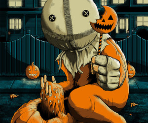 Halloween, horror, and trick r treat image