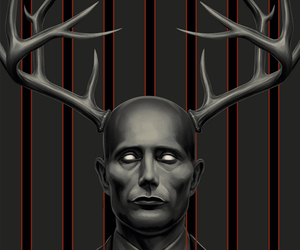Devil, horror, and hannibal lecter image