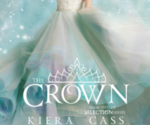 the crown, kiera cass, and book image